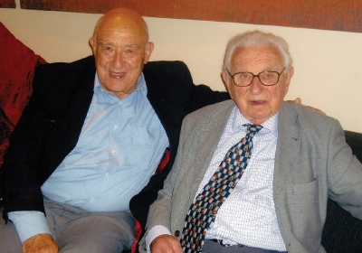 Hugo visited Sir Nicholas Winton several times