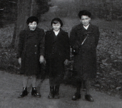 The only surviving photograph of Hugo, along with his stepbrother
