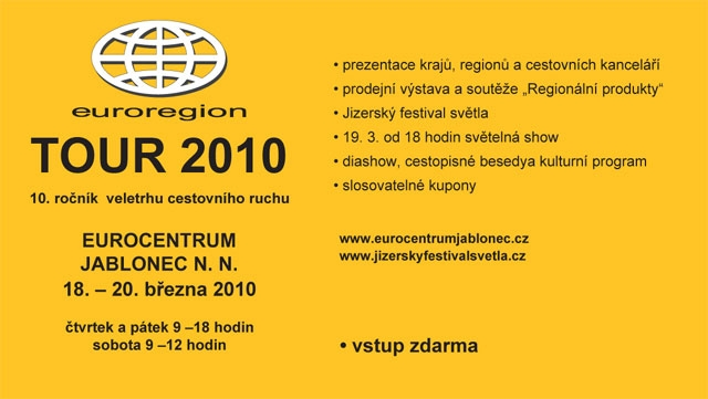 Welcome to the Tourist Trade Fair – Euroregion TOUR 2010