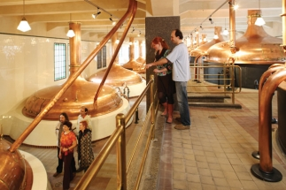 The brewery tour: an excursion through the senses.