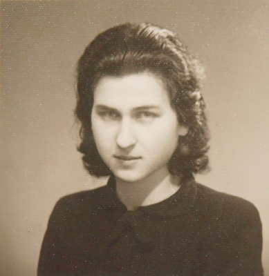 Anna after her return from Terezín