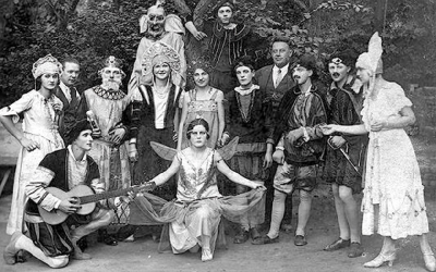 Theatre performance from 1937
